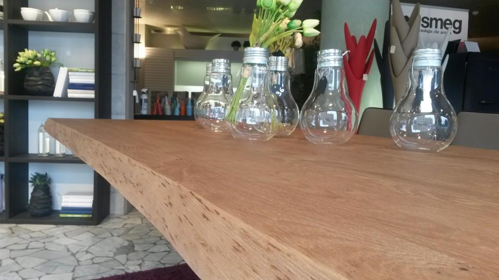 tavolo shangai top scortecciato altezza 5 cm
