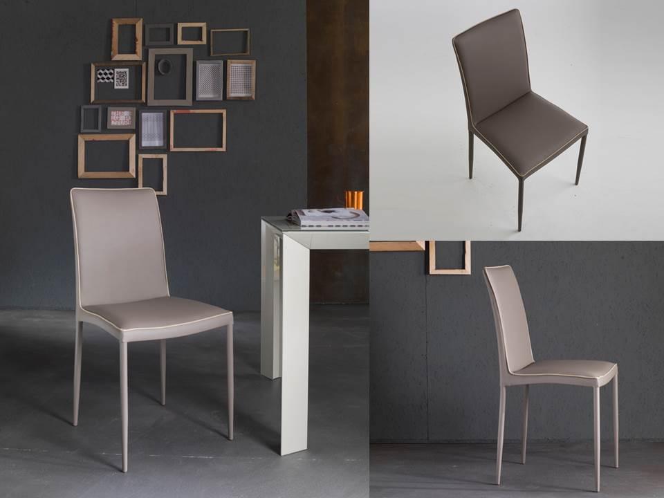 Le sedie in pelle o ecopelle di riflessi sono bellissime for Riflessi tavoli e sedie