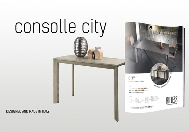 consolle allungabile city