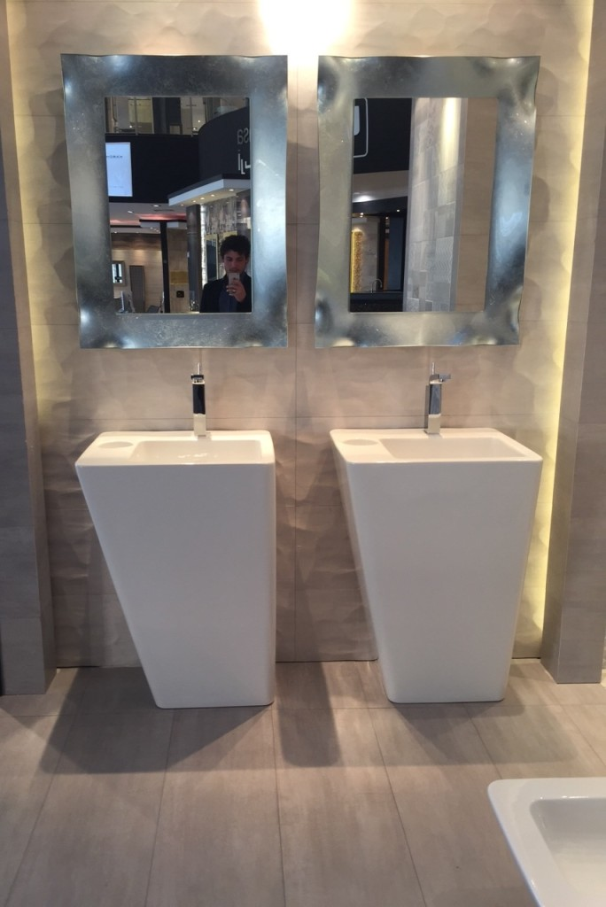 specchio da bagno modello viva Riflessi