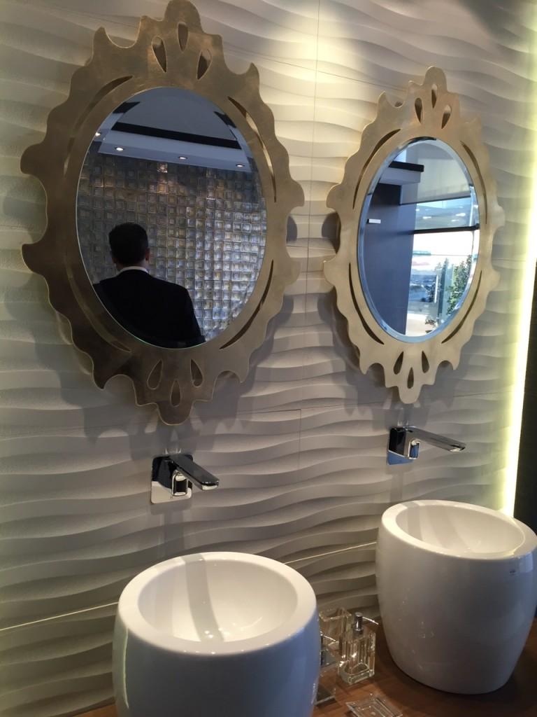 specchio da nagno modello olimpo riflessi