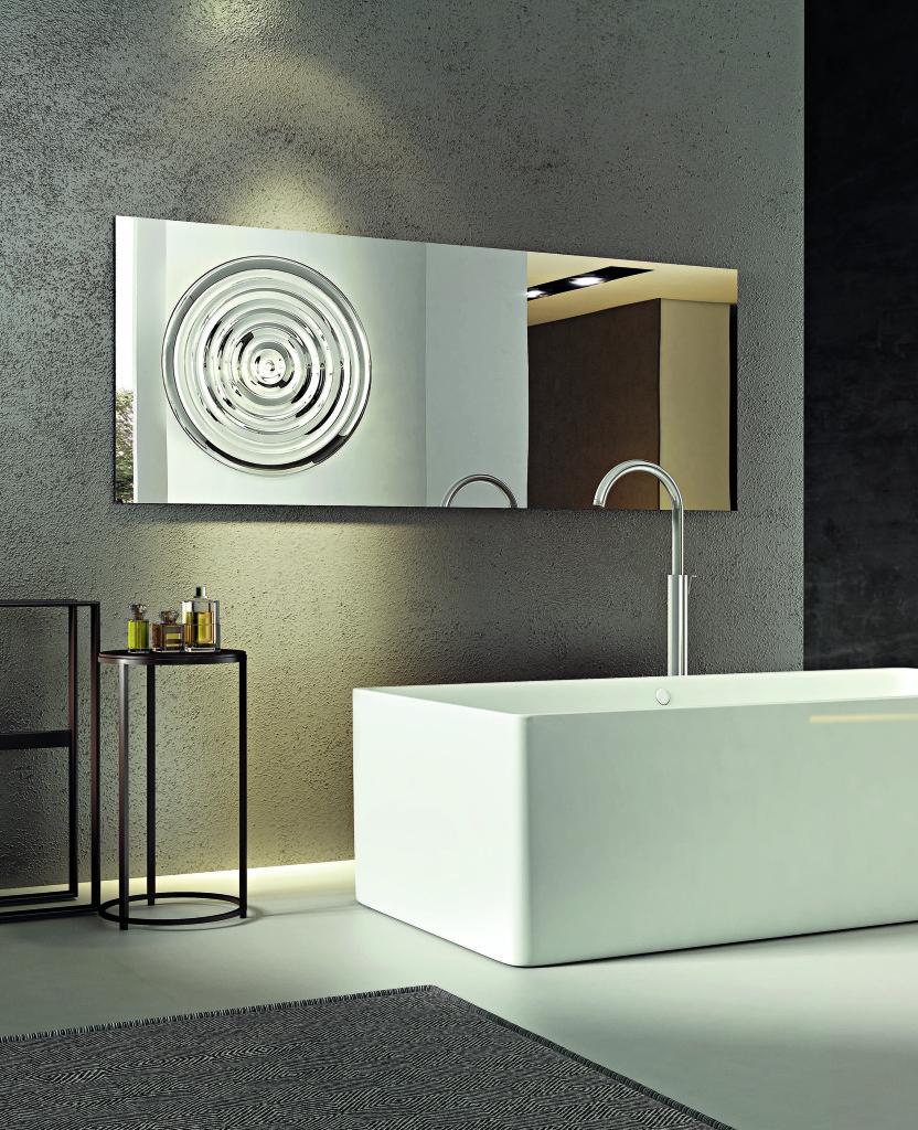 specchio drop Riflessi ideale per arredo bagno