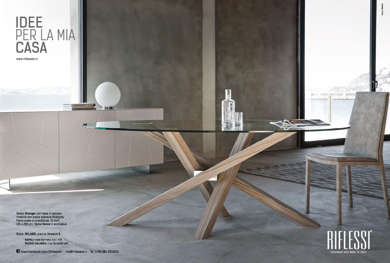 Sedie Schienale Alto Design : Sedie con schienale alto riflessi