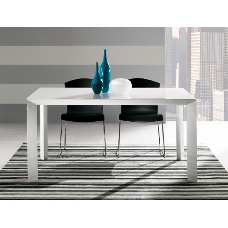 tavolo da pranzo manhattan piano vetro