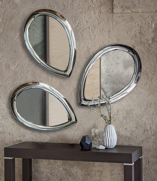 specchio Petalo riflessi originale e creativo
