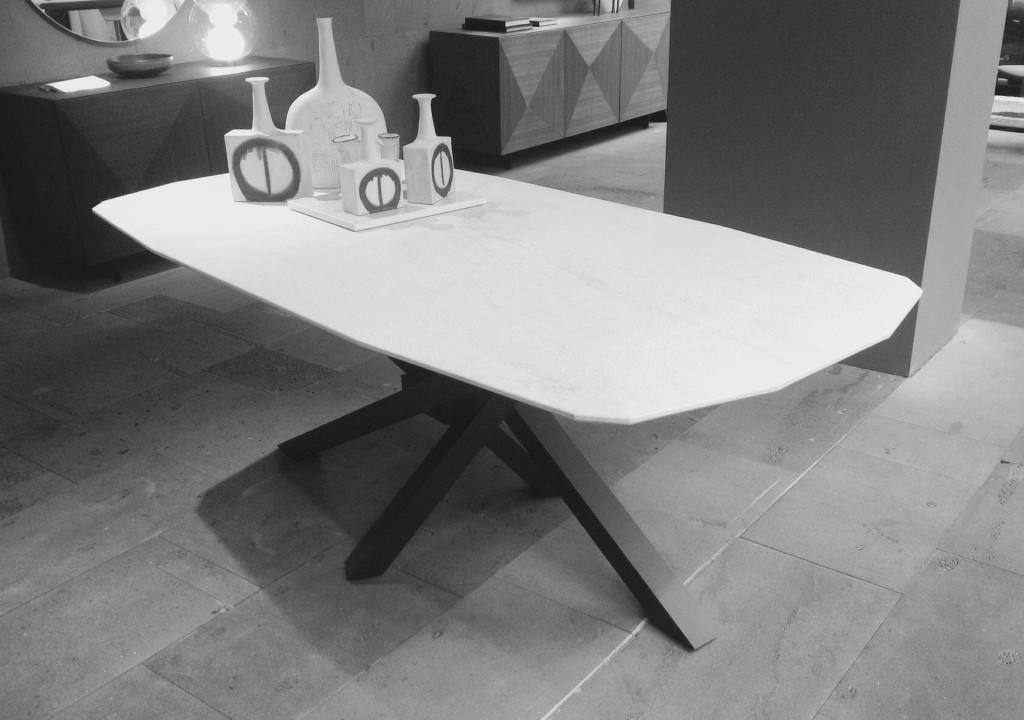 Tavolo ceramica archives consolle tavoli riflessi for Riflessi tavoli allungabili