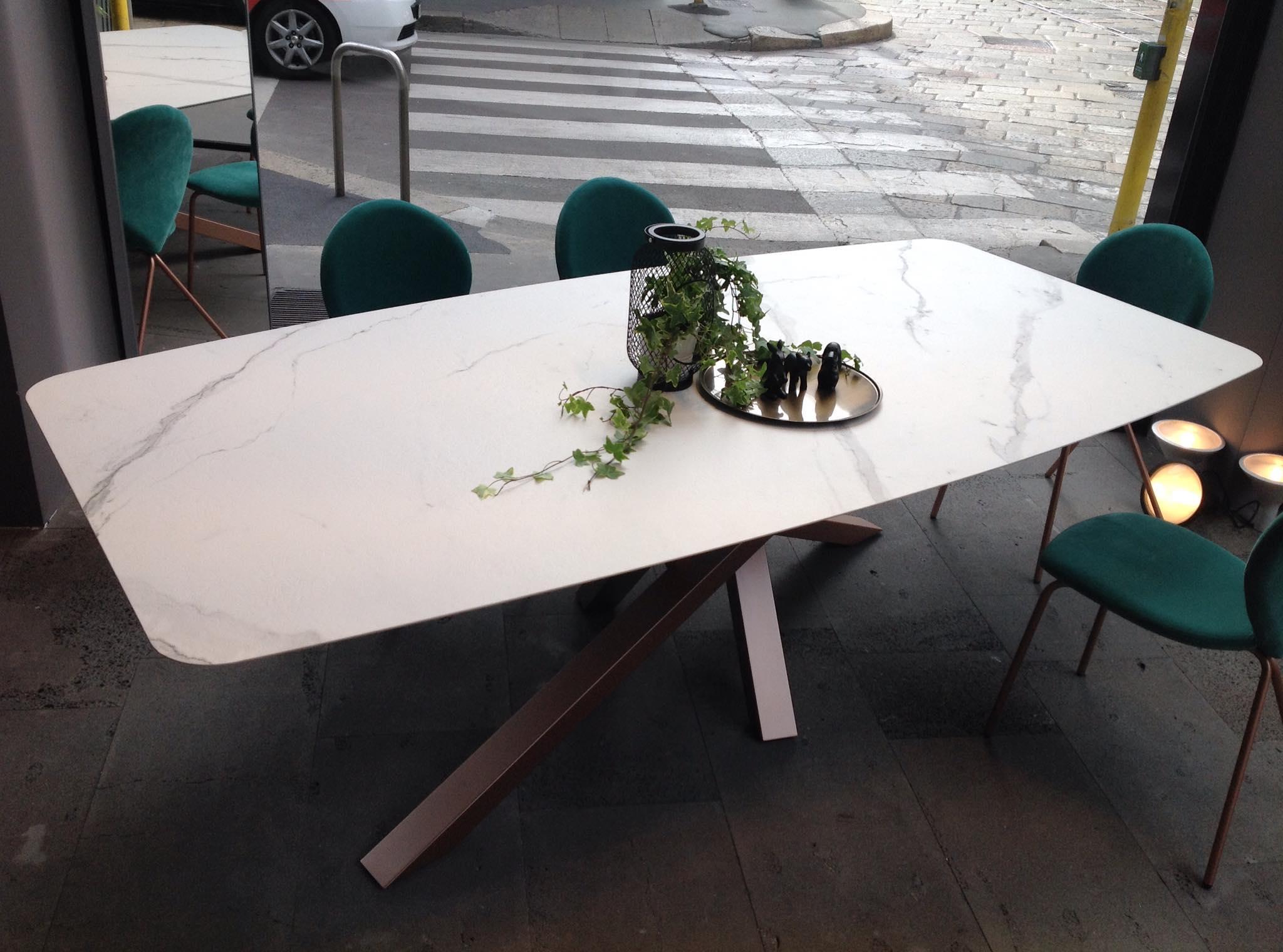 Emejing tavoli in ceramica gallery for Tavolo consolle riflessi