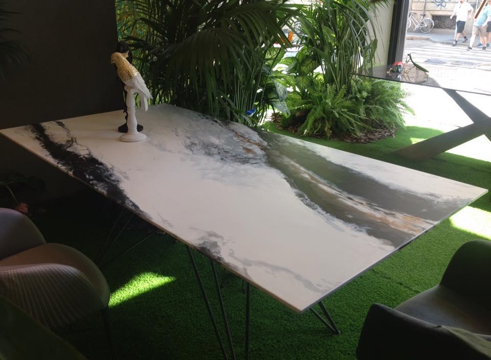tavolo shangai art riflessi