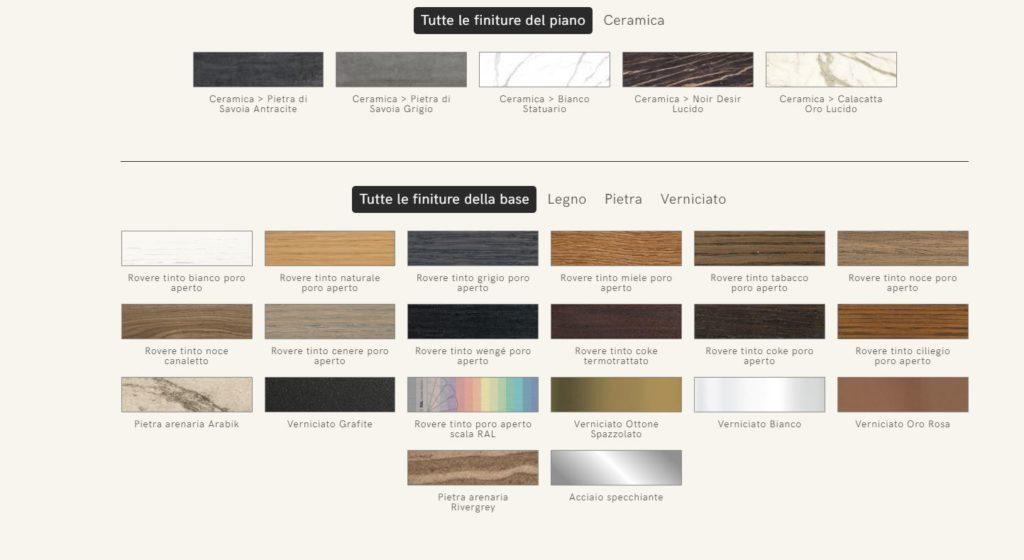colori tavolo shangai riflessi