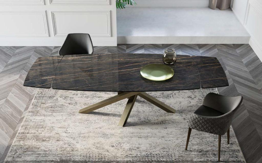 Tavolo in ceramica Riflessi